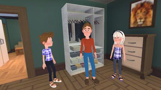 Super Dad : Virtual Happy Family Game  screenshots 1