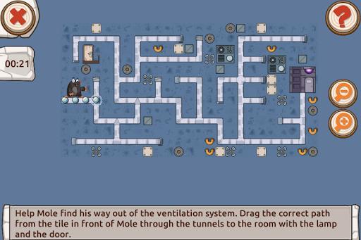 Mole's Adventure - Story with Logic Games Free 2.1.0 screenshots 4