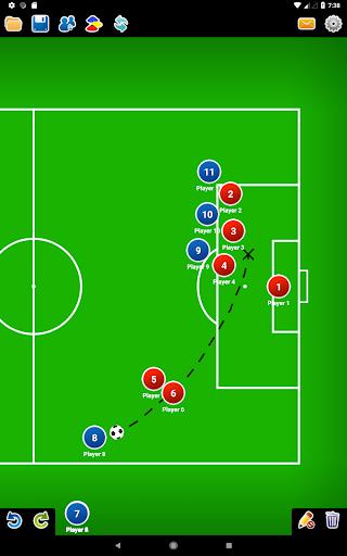 Coach Tactic Board: Soccer 1.3 Screenshots 7