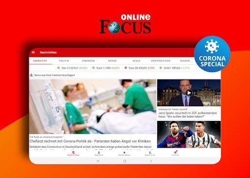 FOCUS Online - Nachrichten: Die schnelle News App android2mod screenshots 8