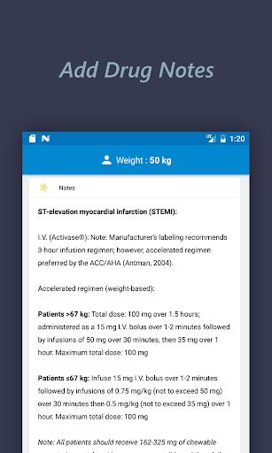 Infinite Dose: The Smart Drug Dosage Calculator  Screenshots 4