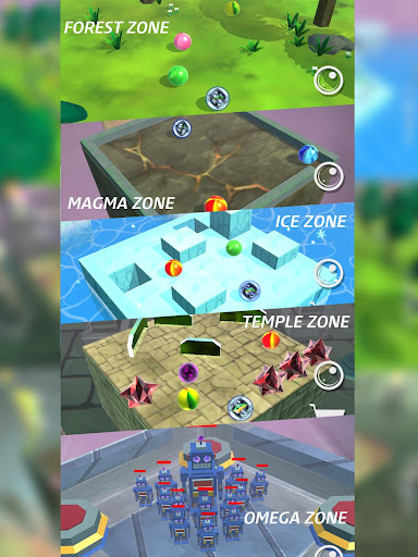 Marble Zone : Offline stylish puzzle action screenshots 12