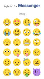Chat Messenger Keyboard – Keyboard for Messenger 3