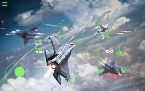 Modern Warplanes: Sky fighters – Mod, Unlimited Rockets | APK Download 4