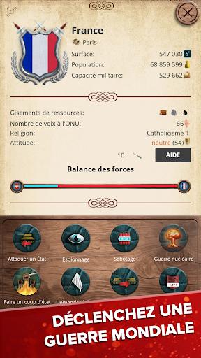 L'époque moderne - Simulateur du Président APK MOD – Monnaie Illimitées (Astuce) screenshots hack proof 2