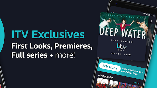 ITV Hub: Your TV Player - Watch Live & On Demand Screenshot