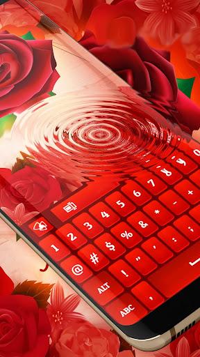 Red Rose Keyboard 2021  screenshots 4