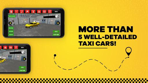 taxi simulator car driving game screenshot 2