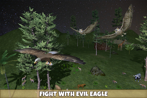 Wild Owl Bird Family Survival: Bird Simulator 3.0 screenshots 4