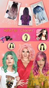 Hairstyle Camera Beauty : Hair Changer Photo Edit 1.2 Screenshots 13