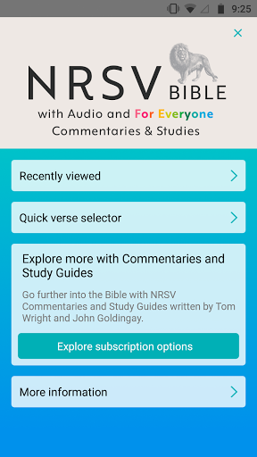 NRSV: Audio Bible for Everyone  screenshots 1