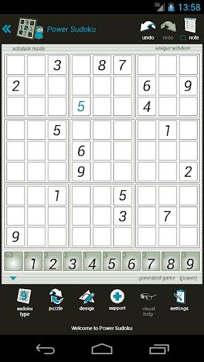 power sudoku screenshot 1