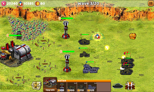 Tank Defend: Red Alert Command 1.5.0 screenshots 1