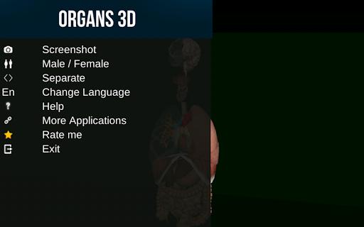 Internal Organs in 3D (Anatomy) 2.5 Screenshots 18