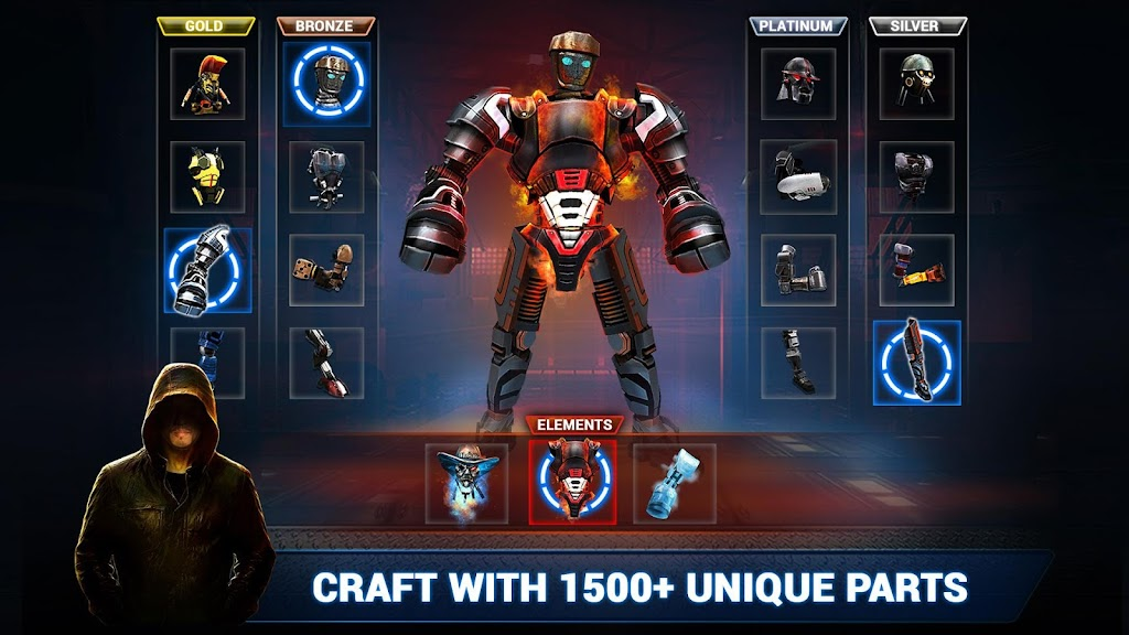 Real Steel Boxing Champions MOD poster 2