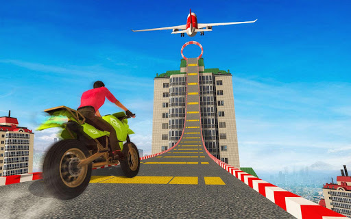 Sky bike stunt 3d   Bike Race u2013 Free Bike Games screenshots 13