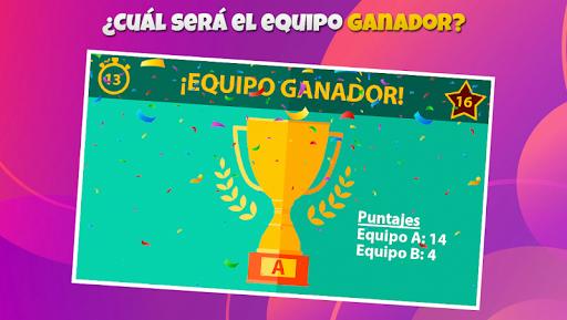 Charadas: Adivina Quiu00e9n Soy (Juego por equipos) 1.0.2 screenshots 16