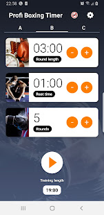 Boxing round interval timer PRO