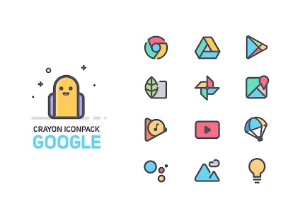 Crayon Icon Pack 2