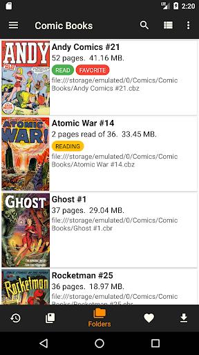 cdisplayex free comic reader screenshot 1