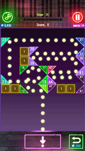 Bricks Breaker Melody screenshots 1