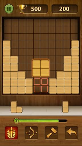 Wood Block Puzzle 2021 - Wooden 3D Cube Puzzle Gem goodtube screenshots 2