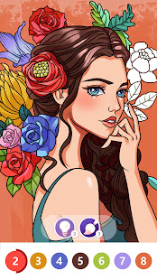 Color by Number: Oil Painting Coloring Book 1.801 screenshots 2