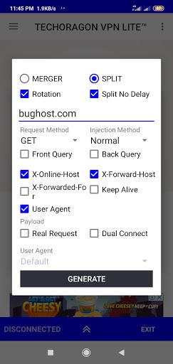 TECHORAGON VPN LITE -  Free Tweaks  Injection  VPN apktram screenshots 6