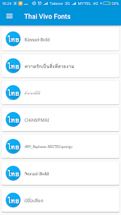 Thai Font Style For For Pc – How To Download It (Windows 7/8/10 And Mac) 2