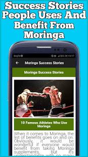 Health Benefits of Moringa Leaves