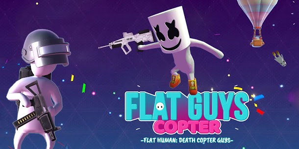 Flat Human Copter Guys Hack for iOS and Android 1