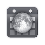 Simple Moon Phase Calendar