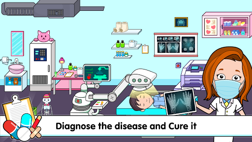 My Tizi Town Hospital - Doctor Games for Kids ud83cudfe5 screenshots 5
