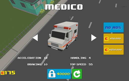 Blocky Road Racer 1.0 screenshots 9