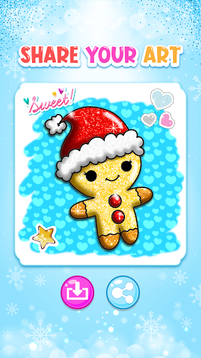 Christmas Coloring Game - Learn Colors  screenshots 8