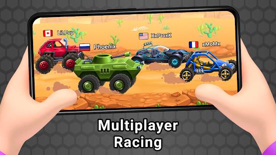 Mad car Racing on hilltop 1.0.9 screenshots 1