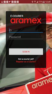 Aramex Courier screenshots 1
