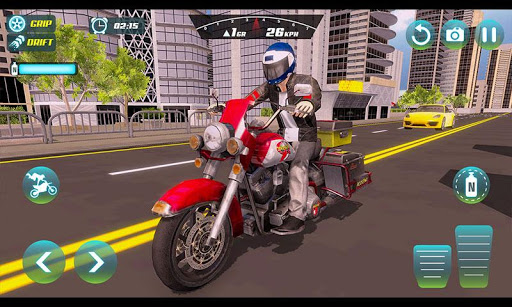 City Bike Driving Simulator-Real Motorcycle Driver screenshots 4