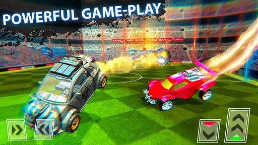 Rocket Car Football Soccer League Champion 1.5 screenshots 2
