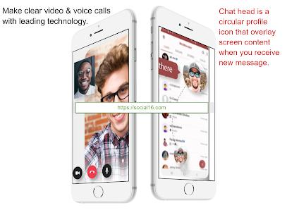 Social16 Messenger – Free video & audio call. 1
