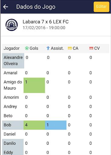 Foto do My Team App
