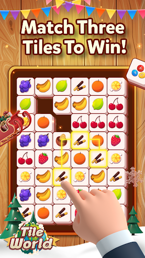 Tile World - Fruit Candy Triple Match 1.1.3 screenshots 1