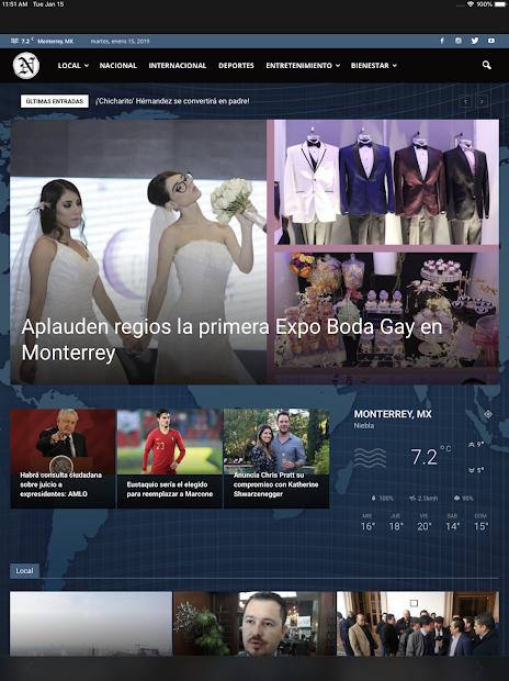 Captura de Pantalla 15 de Periódico El Nacional para android
