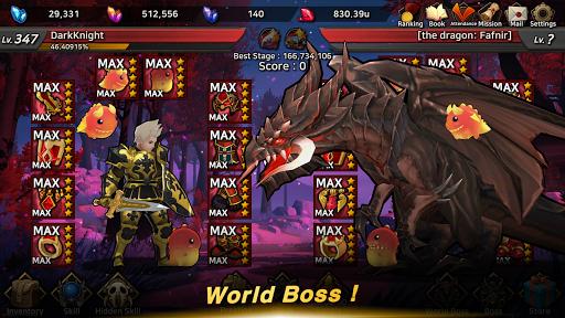 Dark Knight : Idle RPG game 0.1038 screenshots 1