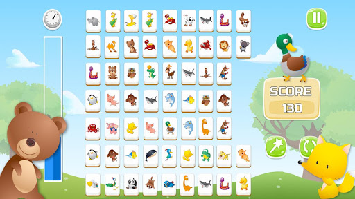 Connect Animals : Onet Kyodai (puzzle tiles game)  screenshots 1