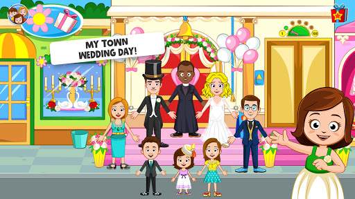 My Town: Wedding Day - The Wedding Game for Girls android2mod screenshots 2