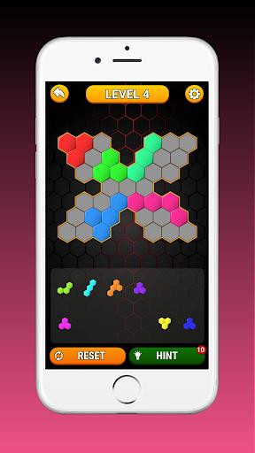 Code Triche Hex Block! Hexa Match Puzzle Game (Astuce) APK MOD screenshots 4