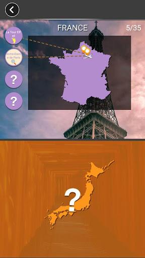 Voyage des Mots -Jeu de Mots Croisu00e9s avec Carte 1.301 de.gamequotes.net 3
