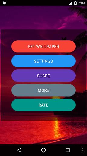 Sunset Live Wallpaper screenshots 1