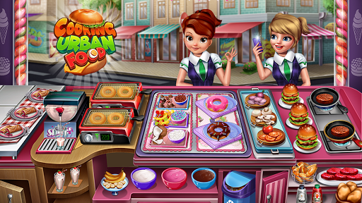 Cooking Urban Food - Fast Restaurant Games 8.7 screenshots 16